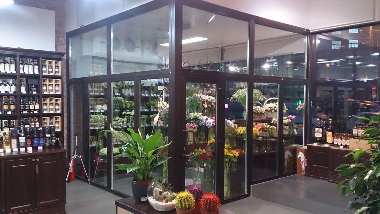 холодильник витрина для цветов